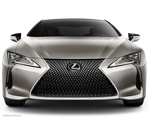 View the Lexus LC NULL from all angles. When you are ready ...