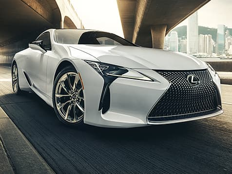 LC 500 shown in Ultra White.
