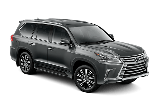 Lexus LX shown in Nebula Gray Pearl.
