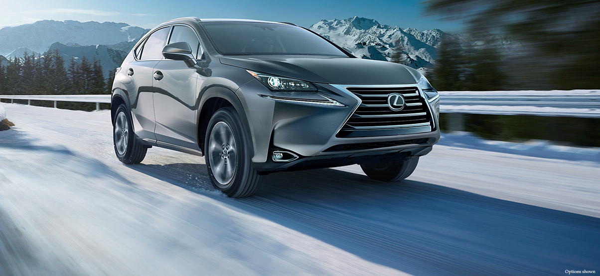 Exterior shot of the 2017 Lexus NX Turbo