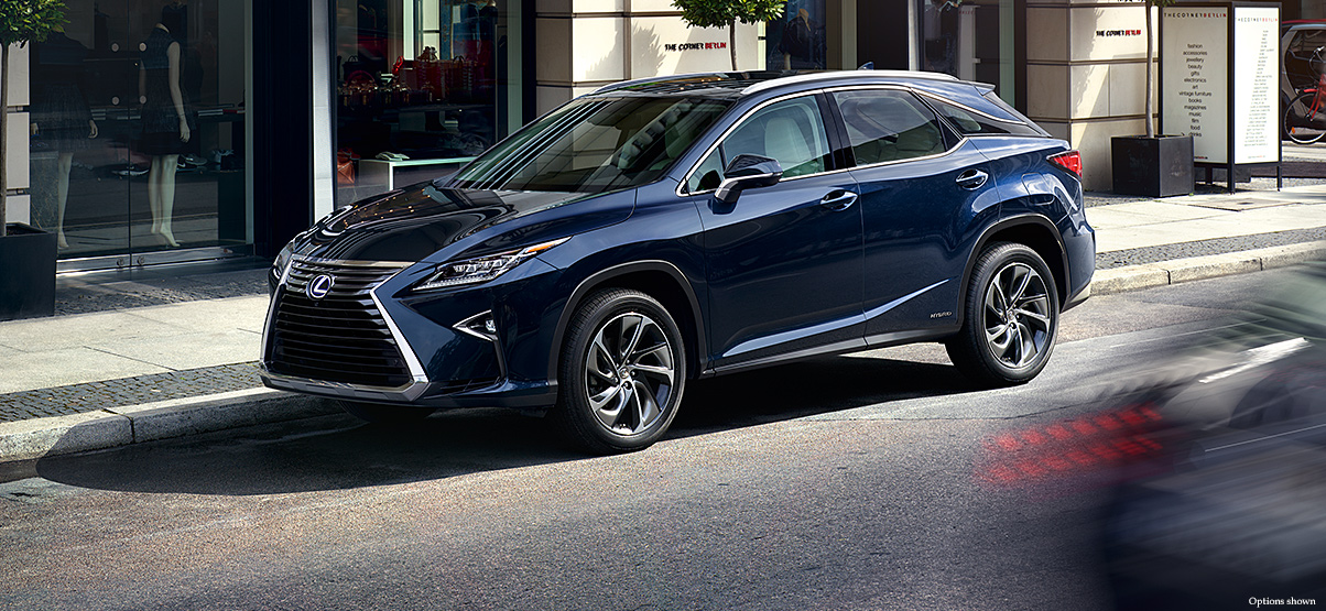 for hybrid trend three clan space motor rx quarter more look review the first lexus cars front l