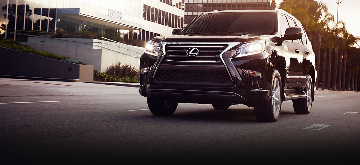 Exterior Shot Of The 2019 Lexus Gx 460 Shown In Black Onyx