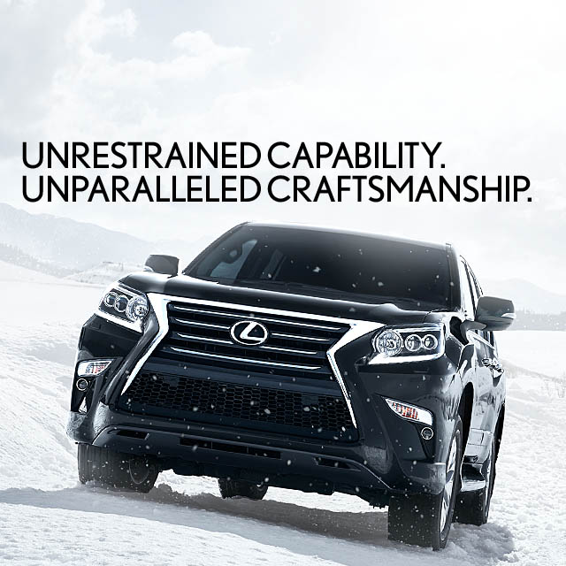 Exterior shot of the 2018 Lexus GX 460 shown in Nebula Gray Pearl.