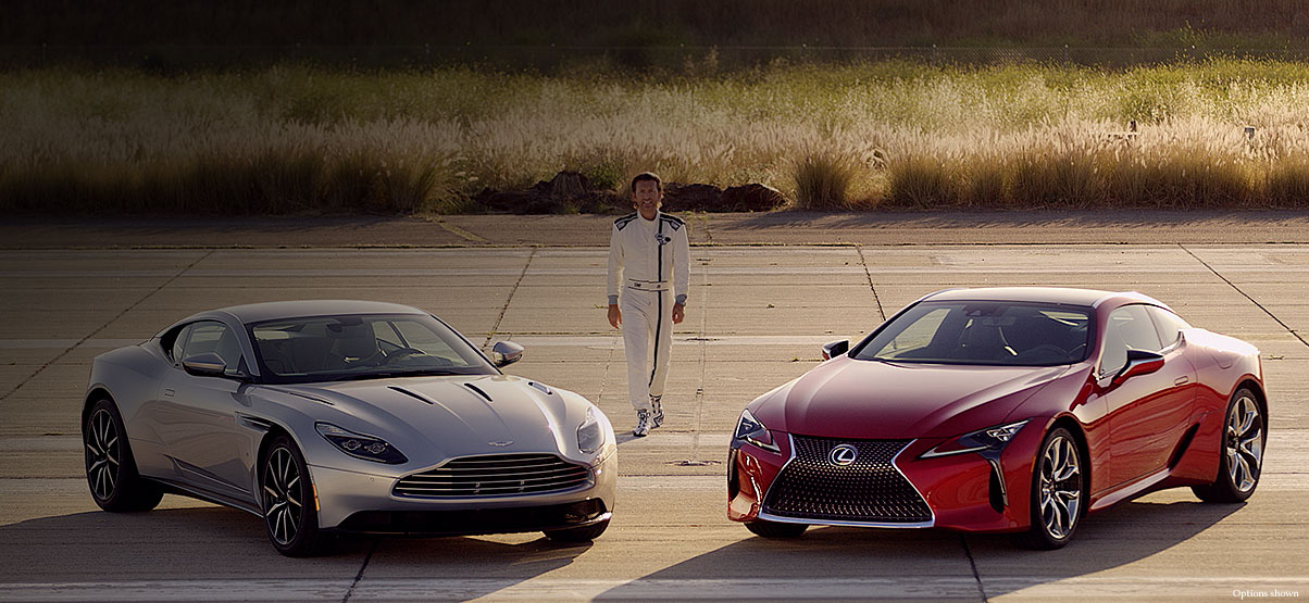 Lexus Lc 500 Vs Aston Martin Db11 V12 Coupe