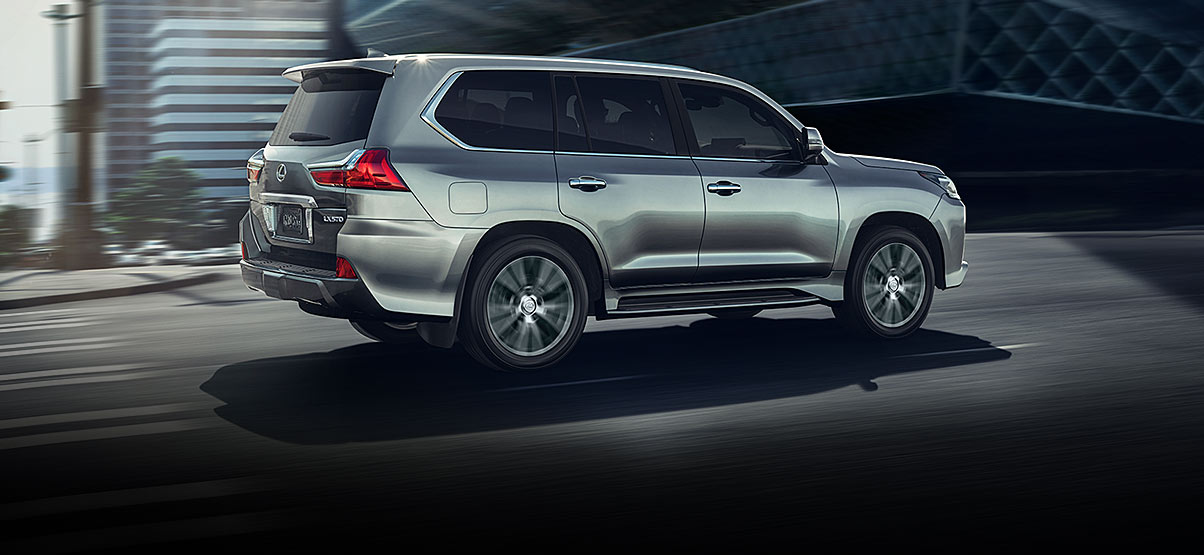 Exterior Shot Of The 2019 Lexus Lx In Atomic Silver
