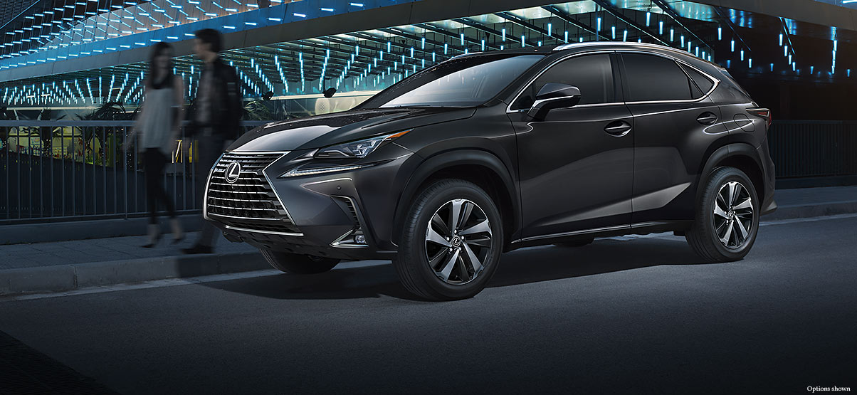 Exterior shot of the 2019 Lexus NX 300