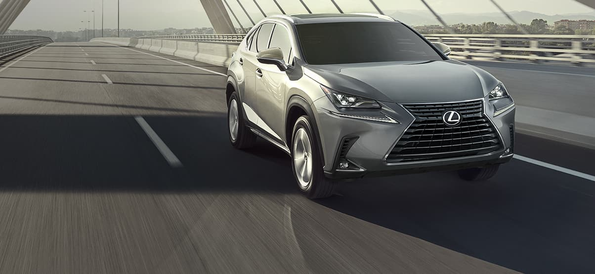 Lexus NX 300 shown in Atomic Silver.