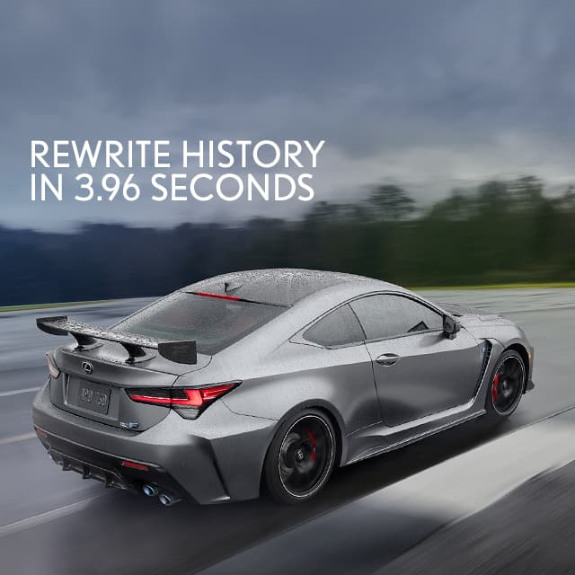 The 2020 Rc F