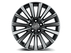 19-INCH 15-SPOKE ALLOY WHEELS WITH SUMMER TIRES