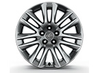 19-INCH SPLIT-SEVEN-SPOKE ALLOY WHEELS WITH HIGH-GLOSS FINISH AND ALL-SEASON TIRES