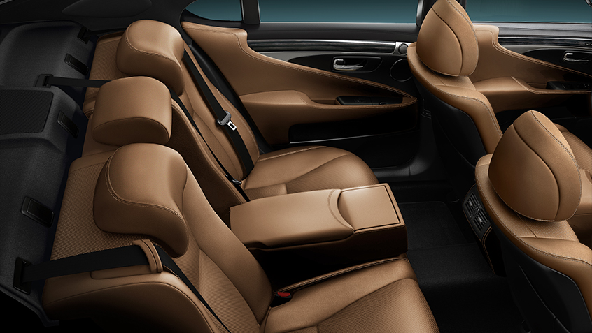 Lexus LS Luxury Sedan Expanded Options and Packages