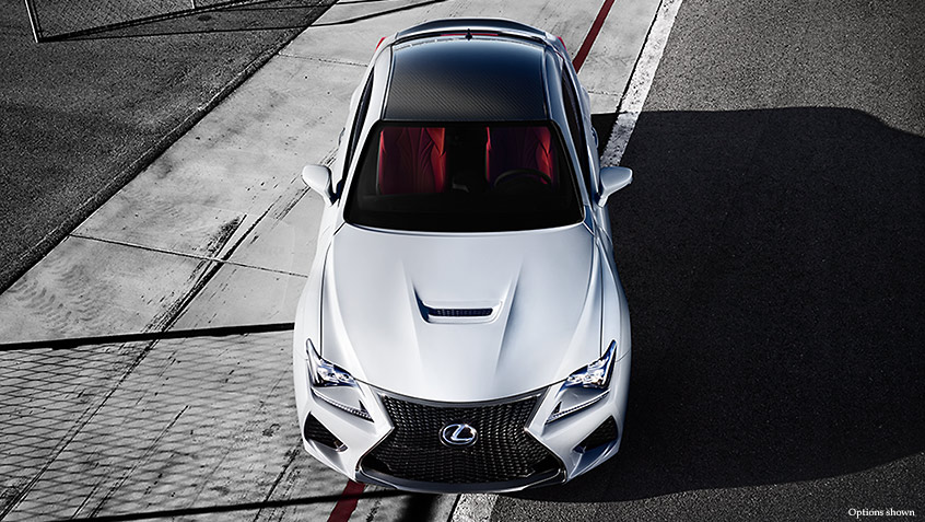 Lexus RC F Luxury Sports Car Expanded Options and Packages