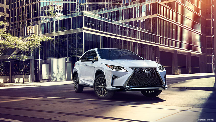 Lexus RX Luxury SUV Expanded Options and Packages