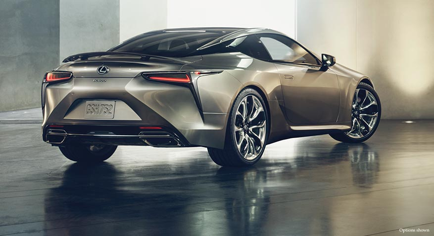 2018 Lexus LC - Luxury Coupe - Packages | Lexus.com