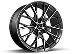 19-INCH HAND-POLISHED SPLIT-10-SPOKE FORGED ALLOY WHEELS BY BBS
