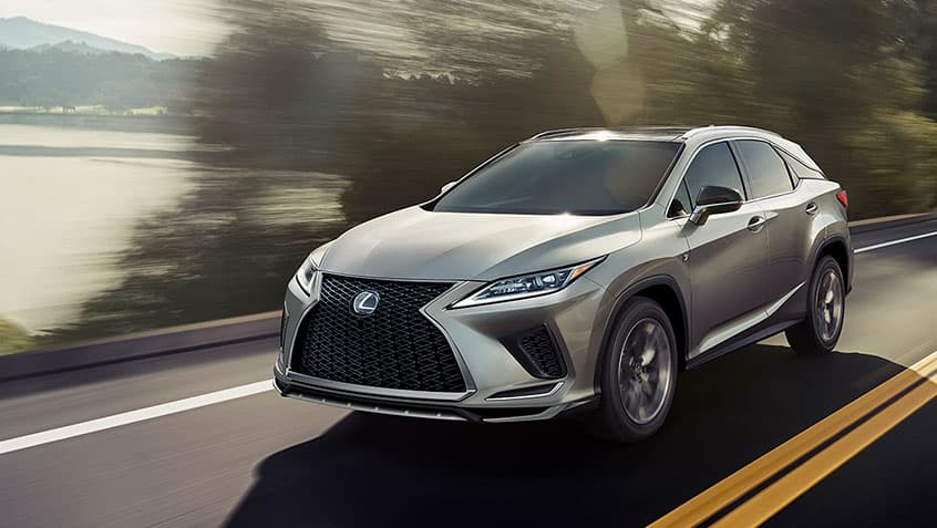 2020 Lexus Rx 350 With Luxury Package