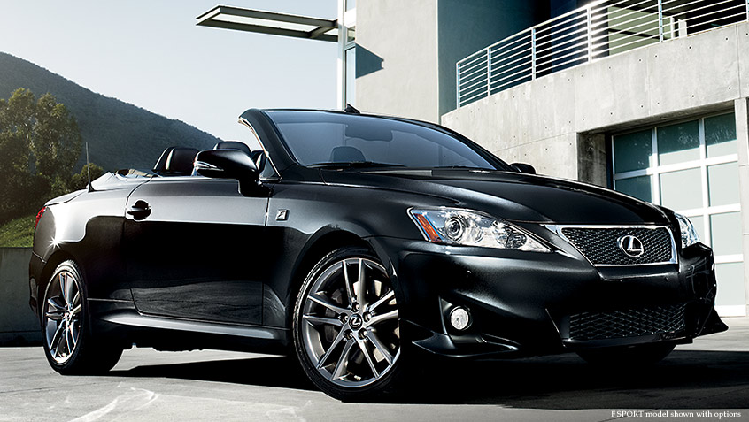Lexus IS C Luxury Sports Car Expanded Options and Packages