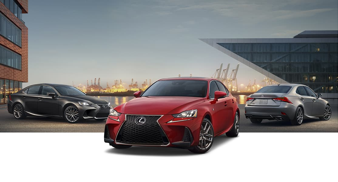 2019 Lexus IS line