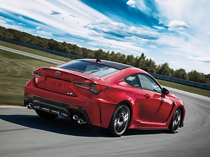 2020 RC F shown in available Infrared.