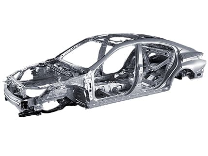 Image of RIGID BODY STRUCTURE WITH CRUMPLE ZONES