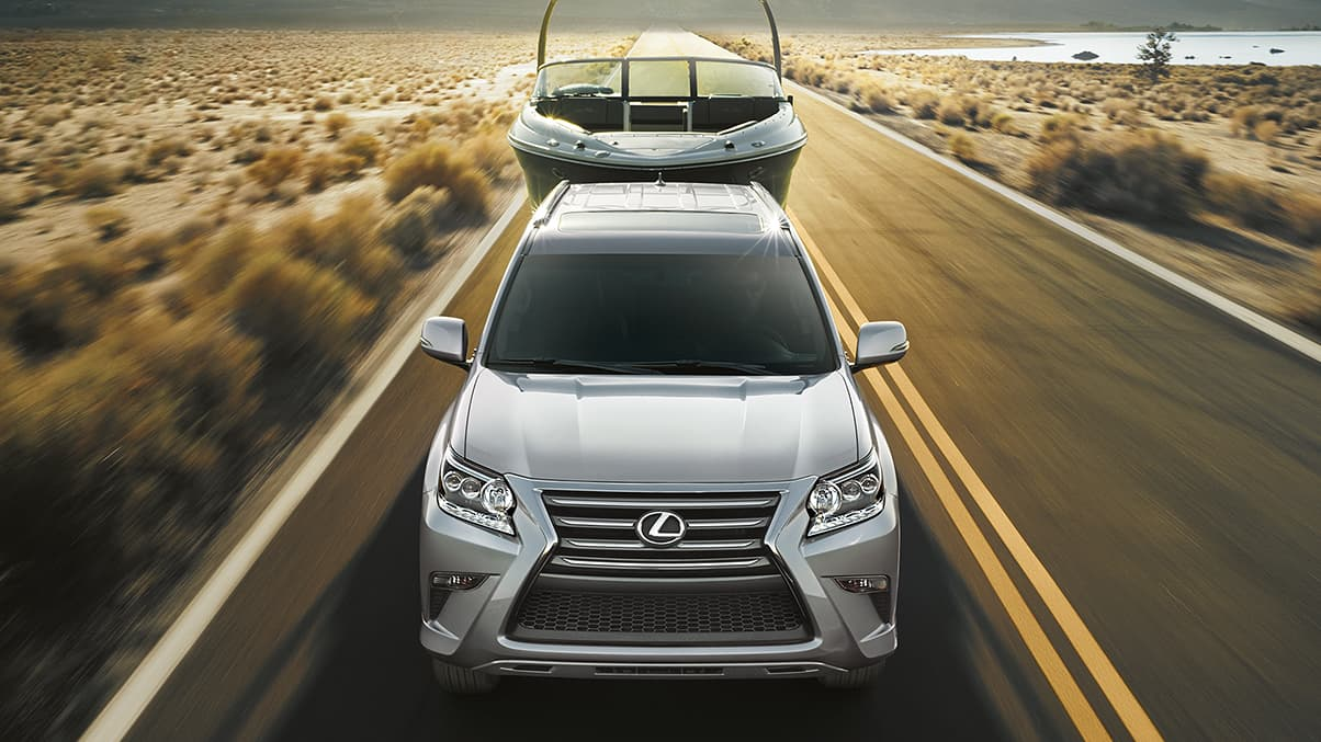 Exterior shot of the 2019 Lexus GX 460.
