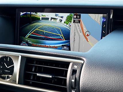 Image of BACKUP CAMERA WITH DYNAMIC GRIDLINES