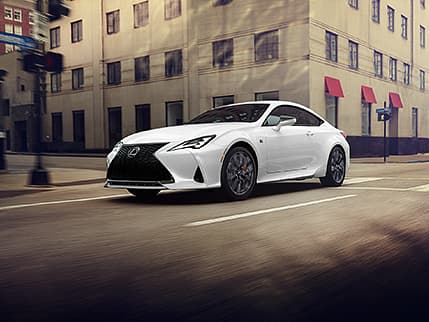 Image of LEXUS DYNAMIC HANDLING WITH DYNAMIC REAR STEERING AND VARIABLE GEAR-RATIO STEERING (RC 350 F SPORT RWD)