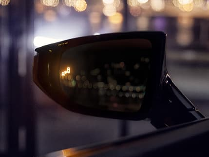 Image of BLIND SPOT MONITOR WITH REAR CROSS-TRAFFIC ALERT