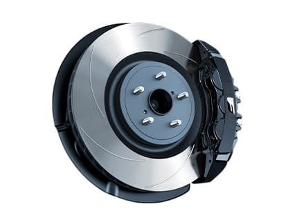 Image of HIGH-PERFORMANCE BREMBO® BRAKES