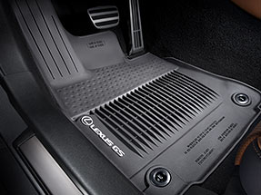 Lexus GS F Accessory – ALL-WEATHER FLOOR LINERS