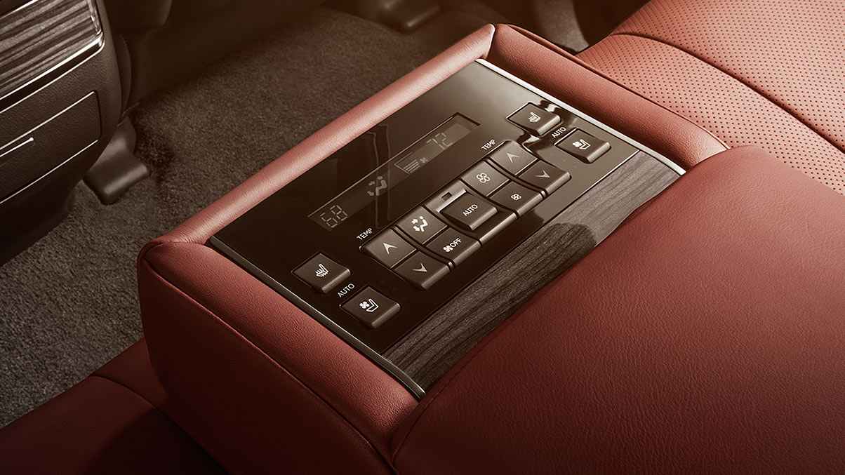 The Lexus Lx Is Packed With Comfort Jump Right In And