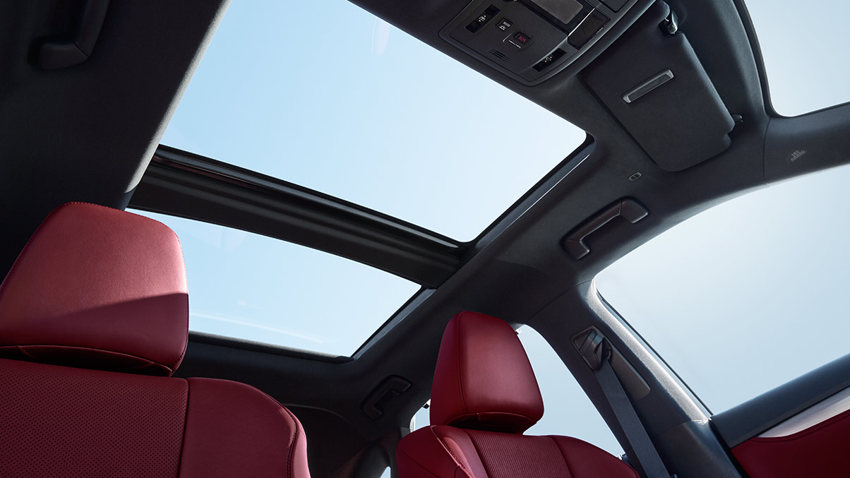 The Lexus RX is packed with comfort. Jump right in and experience ...