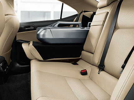 Image of REAR-SEAT COMFORT AND CONVENIENCE