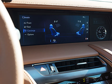Image of DUAL-ZONE CLIMATE CONTROL WITH CLIMATE CONCIERGE