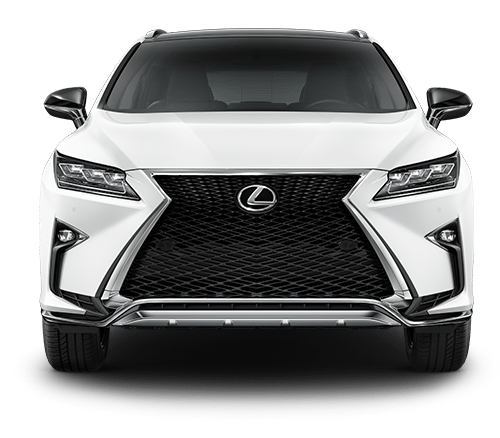 Exterior shot of the 2019 Lexus RX F SPORT.
