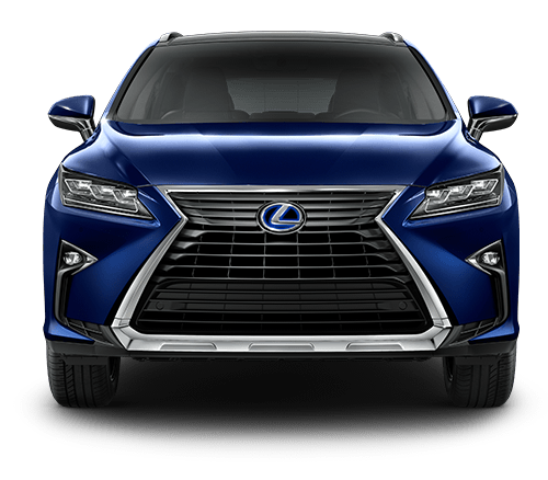Exterior shot of the 2019 Lexus RX Hybrid.