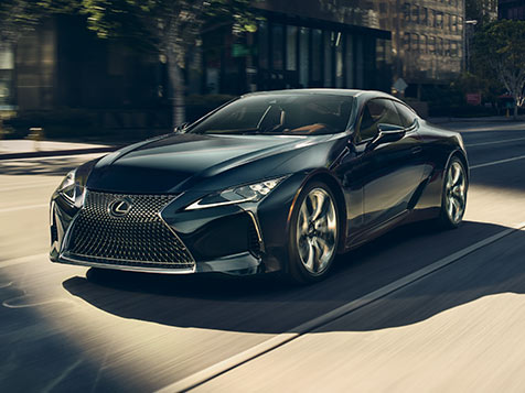 LC 500 shown in Caviar.