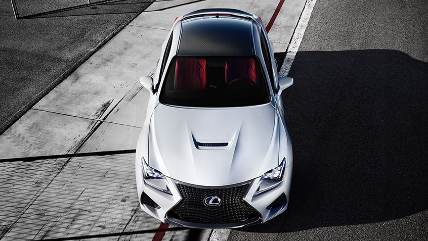 2019 Lexus RC F Luxury Sport Coupe Packages