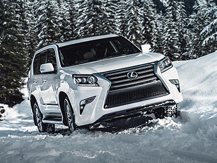 Exterior shot of the 2018 Lexus GX.