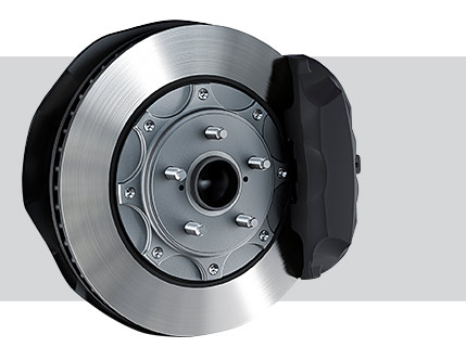 Image of HIGH-PERFORMANCE F SPORT BRAKES (RWD ONLY)