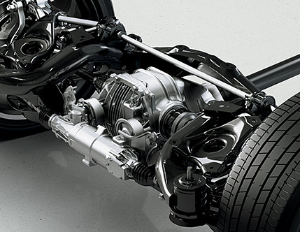 Image of LEXUS DYNAMIC HANDLING SYSTEM INCLUDING DYNAMIC REAR STEERING