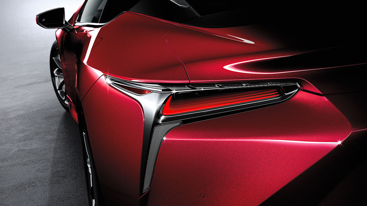 2019 Lexus LC Safety Feature