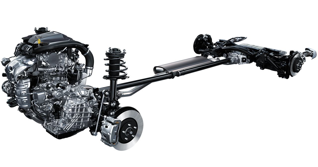 Lexus NX chassis.