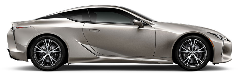 LC 500 shown in Atomic Silver.