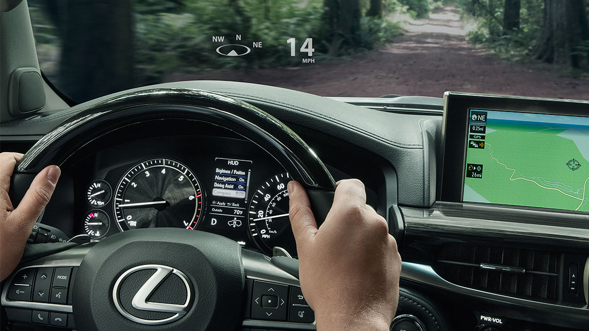 2018 Lexus Lx Luxury Suv Technology Lexus Com
