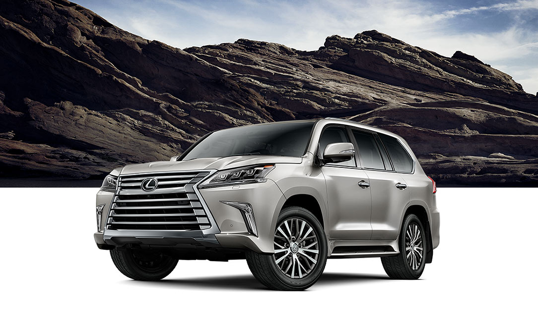 Exterior shot of the 2017 Lexus LX