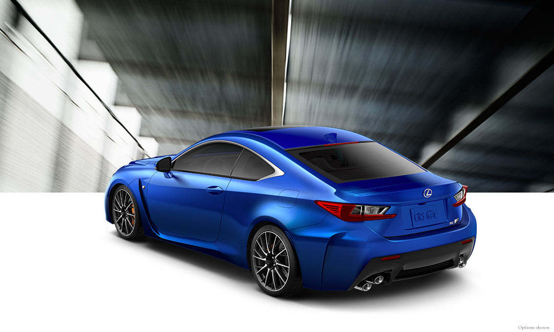 2017 Lexus Rc F Luxury Sport Coupe Specifications