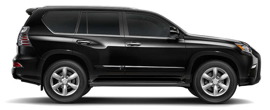 Side exterior shot of the 2018 Lexus GX 460.