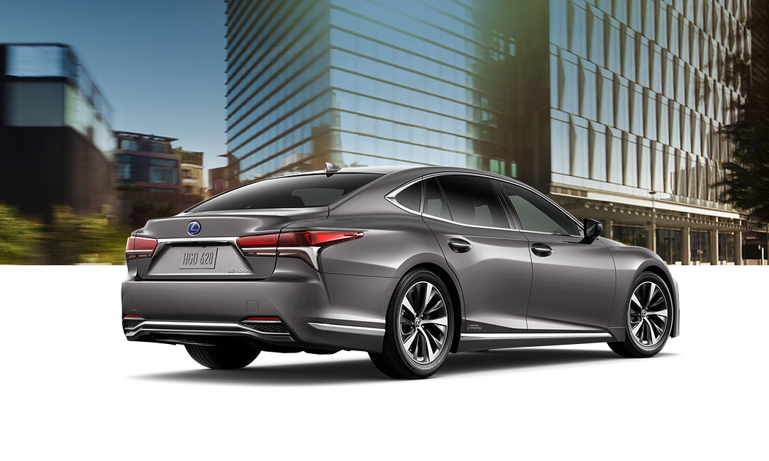 Lexus LS Hybrid shown in Manganese Luster.
