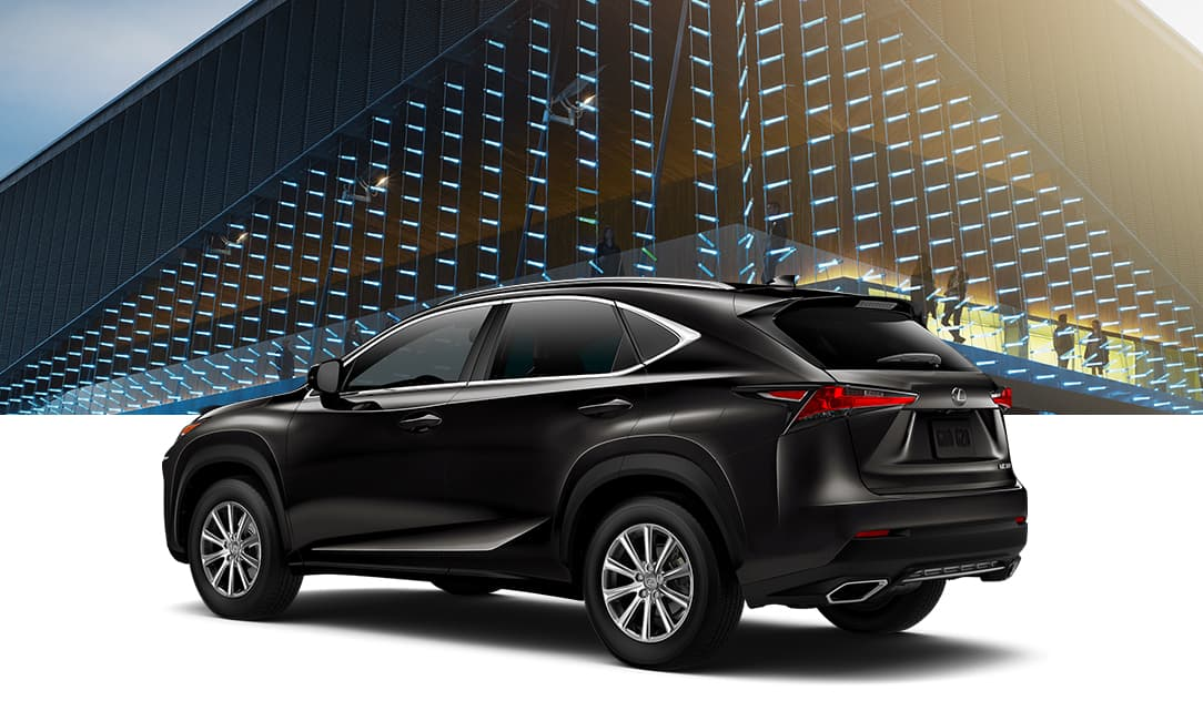 Lexus NX 300 shown in Caviar.